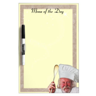 Menu of the Day Dry Erase Whiteboards