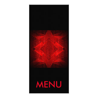 Menu Red Black Restaurant