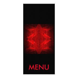 Menu Red Black Restaurant Club Vip