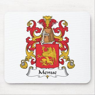 Menue Family Crest Mouse Pad