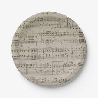 Menuetto Paper Plates 7 Inch Paper Plate