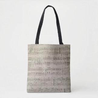 Menuetto Tote Bag
