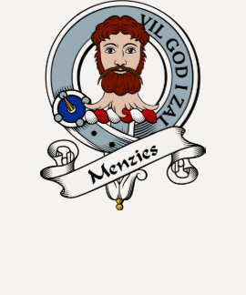 Menzies Clan Badge T-shirt
