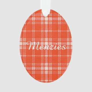 Menzies clan Plaid Scottish tartan