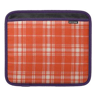Menzies clan Plaid Scottish tartan iPad Sleeves