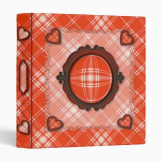Menzies Scottish clan tartan Binder