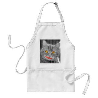 Meow Adult Apron