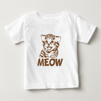 MEOW (Brown) Baby T-Shirt