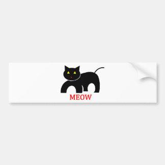 Meow Bumper Sticker