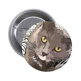 Meow. Button