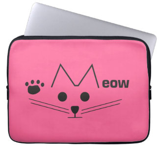 Meow Cat Computer Sleeve