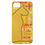 Meow Cat iPhone Cover iPhone 5 Case