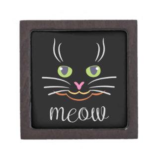 Meow Cat Keepsake Box