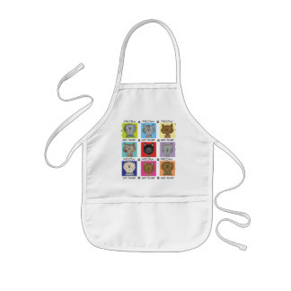Meow Cat Lover Tshirts and Gifts Kids' Apron