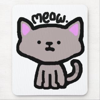 Meow. Cat Mousepad