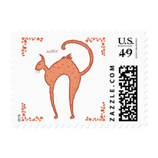Meow Cat Postage