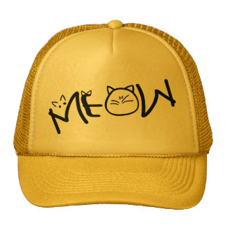 meow cats Trucker Hat