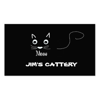 Meow Cattery Business Card