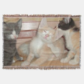 Meow Collection 10 Throw Blanket