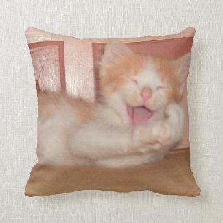 Meow Collection 7 Throw Pillow