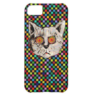 meow ~ colorful mad cat iPhone 5C cover