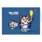 Meow! Cute Cat Card