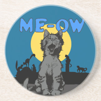 Meow Drink Coaster