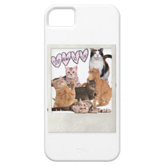 meow funda para iPhone 5 barely there