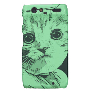 Meow Gal Droid RAZR Covers