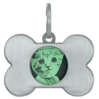 Meow Gal Pet ID Tags