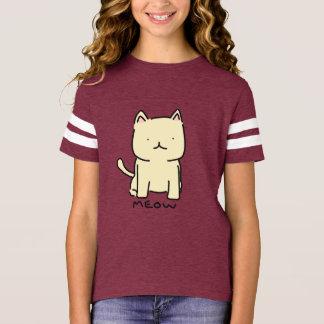 Meow Girls' Football Shirt