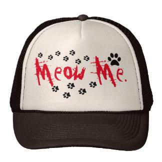 Meow gorra del gato