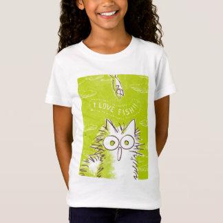 Meow! I love fish! T-Shirt
