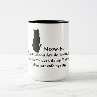 Meow in Translation: Meow-ku Cat Mug