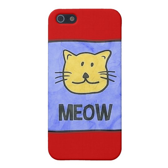 MEOW iPhone SE/5/5s CASE