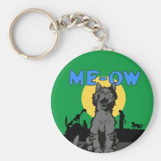 Meow Keychain