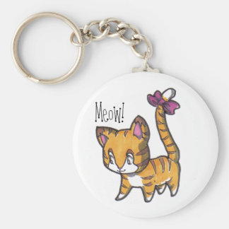 Meow! Kitty Keychain! Keychain