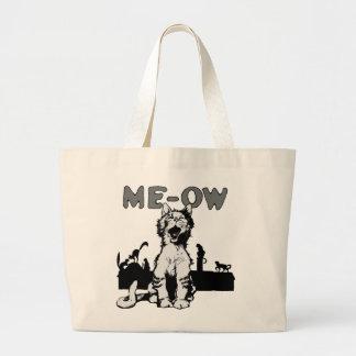 Meow Large Tote Bag