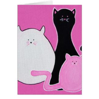 Meow Meow Meow Card