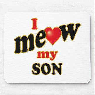 Meow mi hijo alfombrilla de ratones