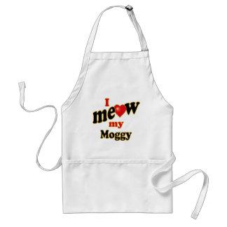 Meow mi Moggy Delantal