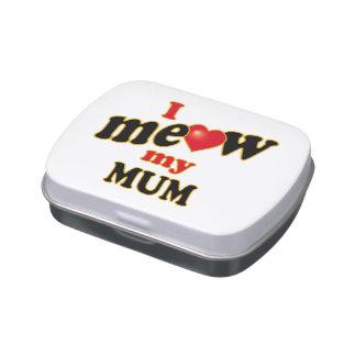 Meow mi momia frascos de caramelos