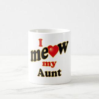 Meow mi tía taza de café