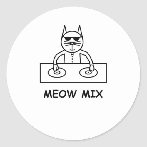 Meow Mix Sticker