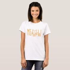 Meow Monday Women's T-shirt at Zazzle