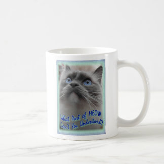 MEOW (new version) Coffee Mug