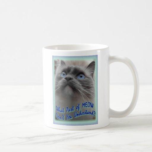 MEOW (new version) Mug