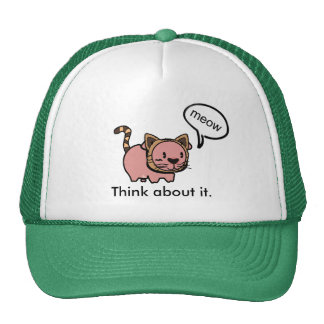 Meow Pig Hat