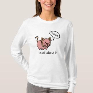 Meow Pig Long Sleeve T T-Shirt