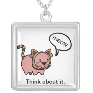 Meow Pig Necklace